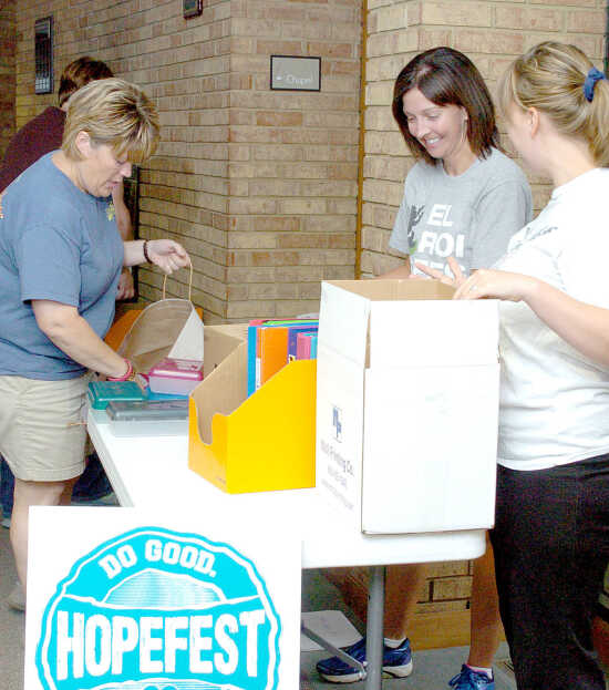 Local News: Hopefest: Free backpacks, school supplies will