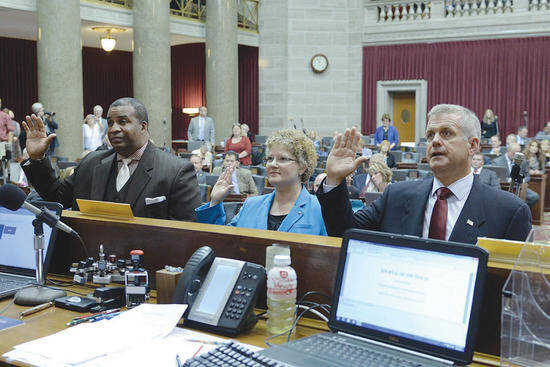 Rowland-Hubrecht's first experience with legislature 'baptism by fire'