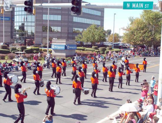 Parade celebrates 'Seven Decades of Success'