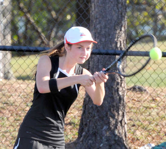 Sikeston netters win match during doubles district tournament