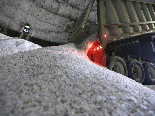 Road salt prices up, availability down