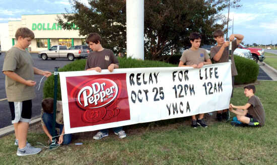 Scott County Relay for Life will be held Oct. 25