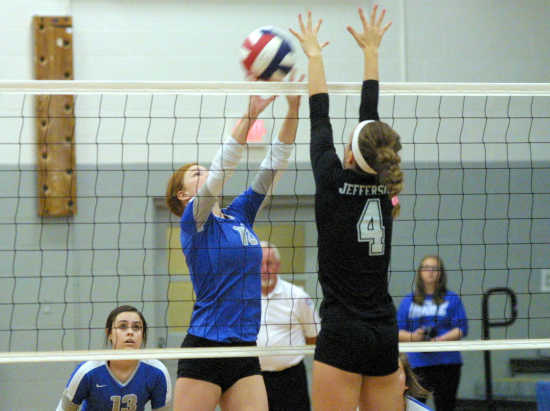 Portageville falls to Jefferson in sectional 25-15, 25-18
