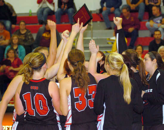 Lady Devils win own tourney for second time in three years