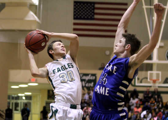 Notre Dame hands NMCC first loss of the season 65-48