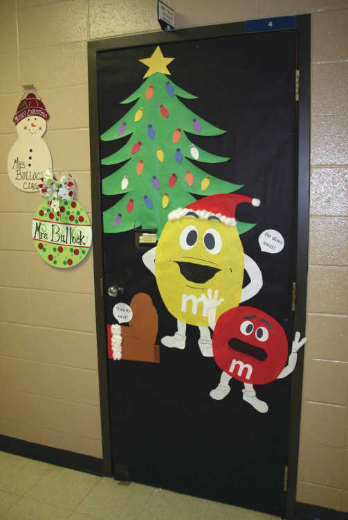 Local News Portageville Schools Christmas Door  ~ 163338_Christmas Door Decorating Ideas Middle School