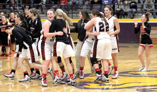 Chaffee downs Scott Central 63-49 for first district title since 1978