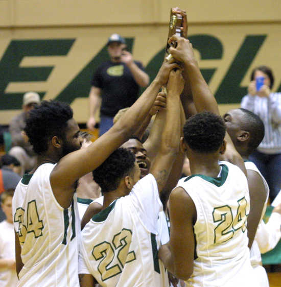 Eagles capture Class 3, District 1 crown with 70-32 romp over Malden