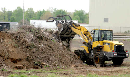 Compost site opens for residents tackling their spring cleaning