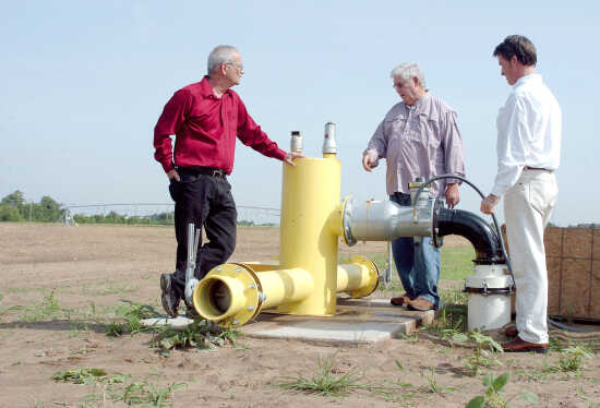 Field of learning: Irrigation system enhances ag program at Sikeston campus