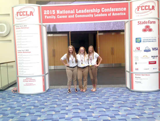 Scott County represented well at FCCLA nationals; Kelly, Oran students take top honors