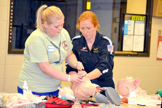 Hands-on learning: Local teens gain insight of medical field through MASH camp in Sikeston