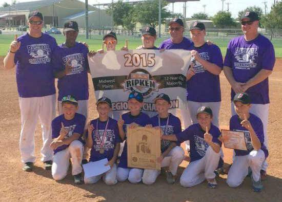 East Prairie 12U wins regional