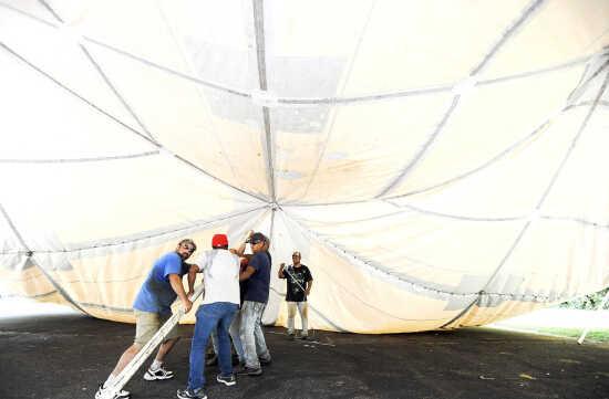 Raise the tents: Preparations begin for SEMO District Fair