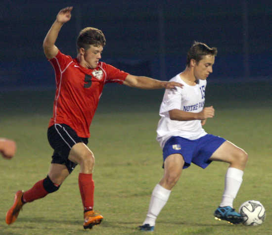 Sikeston chases Notre Dame in 3-0 loss at Soccerfest