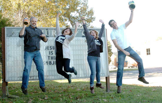 A leap of faith: Churches unite to help the needy