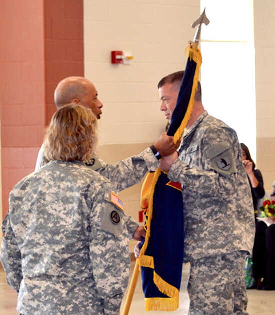 Gargas named Colonel, to serve as Commander of 70th Troop Command