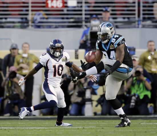 Ealy does it all on defense in Panthers Super Bowl defeat
