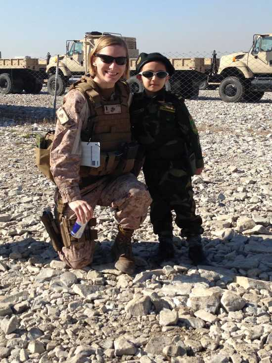 Local family members concerned about -- but proud of -- Marine's service