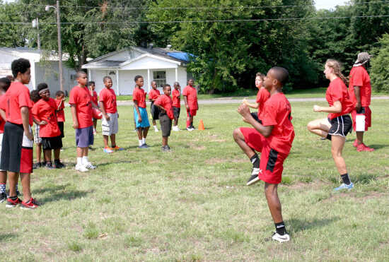 Former Sikeston standouts using football  to teach discipline, leadership to local youth
