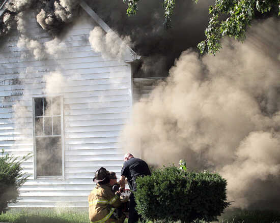 Sikeston home badly damaged in fire