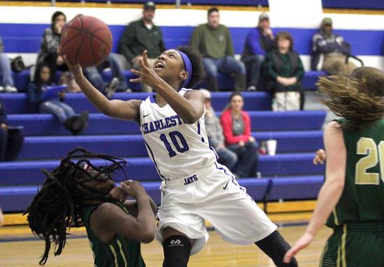 Charleston girls basketball team takes down NMCC in sloppy affair