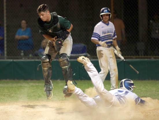 NMCC baseball team overcomes rough day in the field for comeback win over Portageville at Malden Invitational