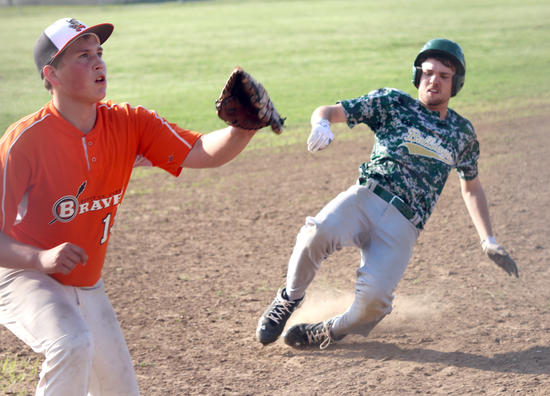 SCC baseball team falls behind early during 9-0 loss to Zalma