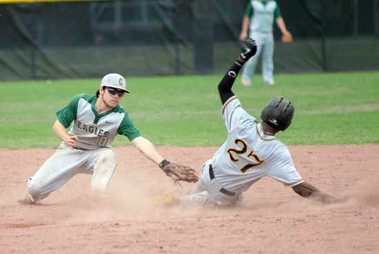 NMCC baseball team sees lead slip away after back to back homers from Kennett