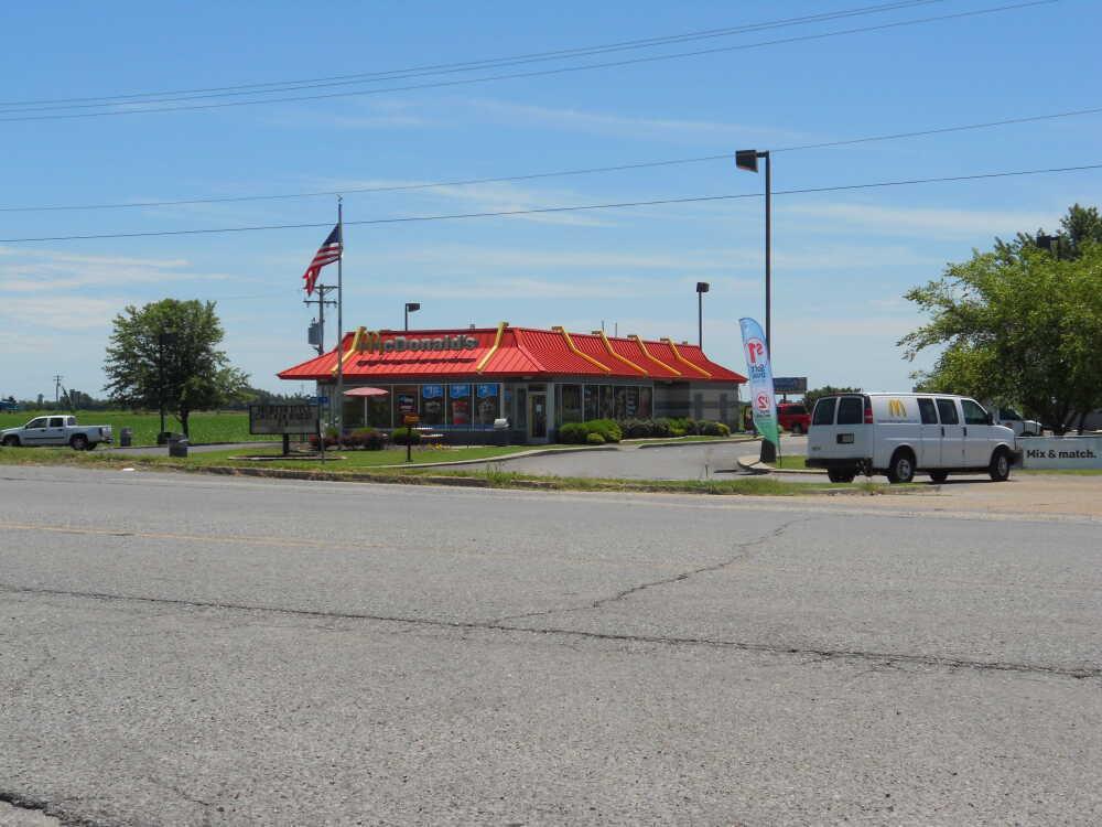 McDonald's gas leak