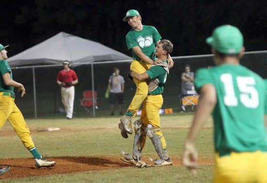 Charleston Fighting Squirrels complete dominant run through Senior Babe Ruth state tournament for first title in three years