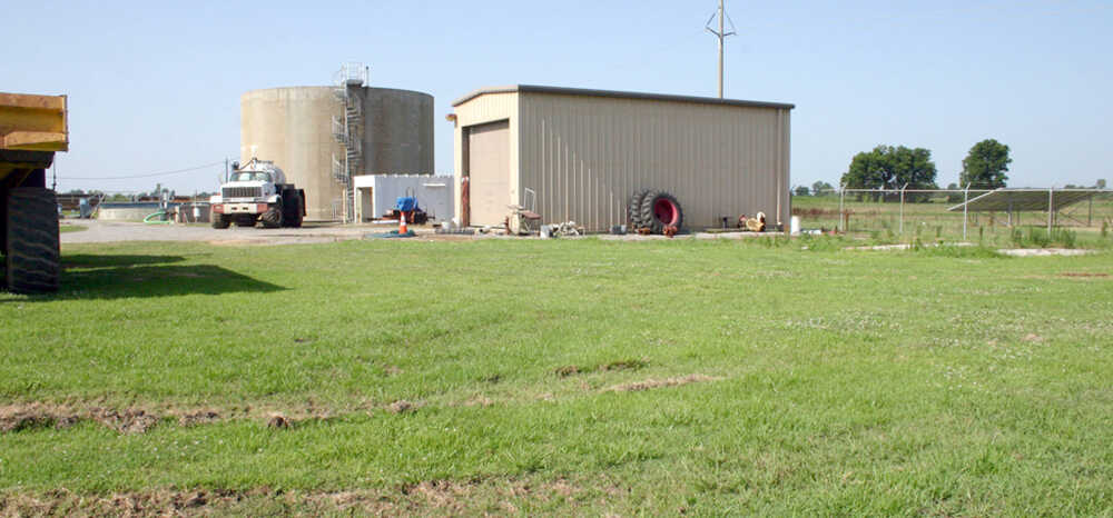 Dirt work for the Waste Water Treatment Plant to begin