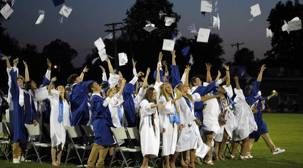 Graduation night in Portageville