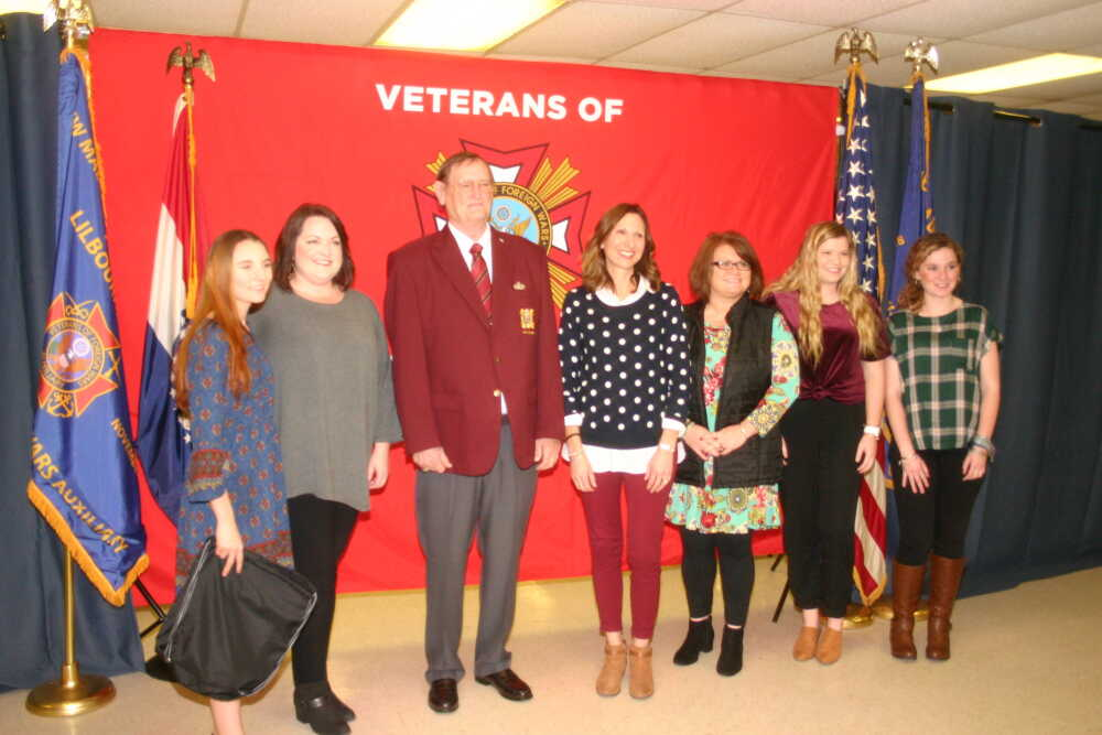 VFW recognizes NMCC students and teacher